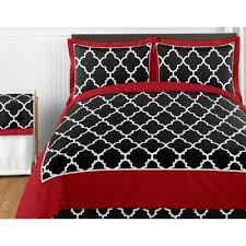 White Black Comforter Sets Buy Red Bedding Sets Queen From Bed Bath U0026 Beyond