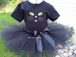 cat costume black cat tutu black cat