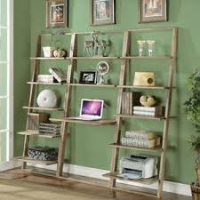 Whole Wall Bookshelves Desk Bookshelf Combo Wayfair