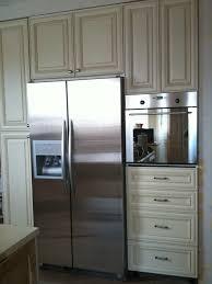 kitchen fridge cabinet accessories foxy kitchen decoration design ideas using white wood