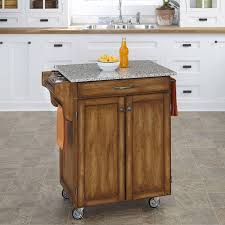 Kitchen Island On Wheels by Kitchen Carts Kitchen Island Table Granite Crosley Natural Wood
