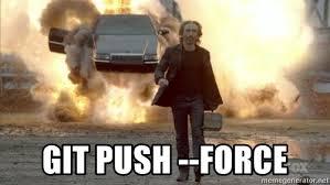 Walk Away Meme - git push force car explosion walk away meme generator
