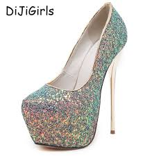 aliexpress com buy pink pumps party shoes for women 16cm