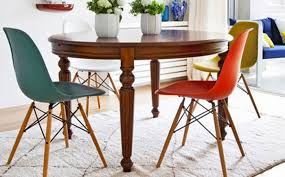 100 dining room table extension slides mahogany verona
