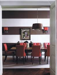 20 colors that jive well with red rooms red brown dining room with pops of red