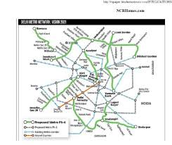 Metro Route Map by Ncr Maps Ncrhomes Com Latest News On Ncr Delhi Realty U0026 Infra
