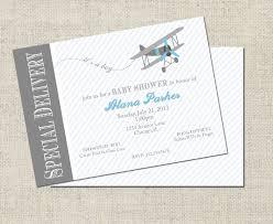 airplane baby shower invitation printable airplane
