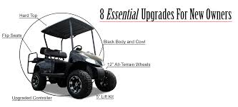 8 essential golf cart accessories for new owners