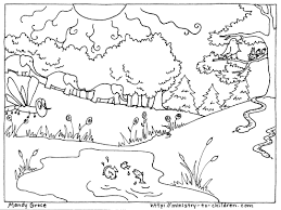 free printable creation coloring pages snapsite me