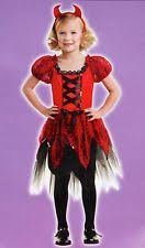 Girls Size 5 Halloween Costumes Totally Ghoul Devil Costumes Girls Ebay