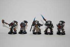 warhammer 40k painting tutorial how to paint a grey knight purifier squad you