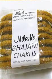 bhajni chakli mini bhakarwadi namkeen namkeens nilesh fruits