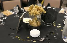 black and gold flower centerpieces pictures to pin on pinterest