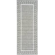 Black White Runner Rug White Runner Rug Rugs Decoration