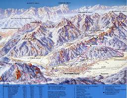 Garmisch Germany Map by Oberammergau Laber Piste Map Trail Map
