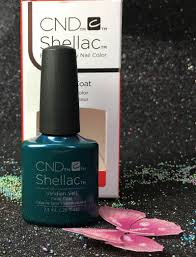 cnd shellac viridian veil uv color coat gel nail polish i gel