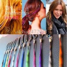 hair feather handmade braid headband feather hair extensions hairpin wig
