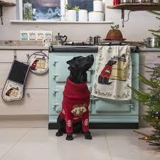 buy dizzie christmas chef u0027s pad aga cook shop cucine