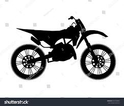 freestyle motocross bike motocross bike silhouette stock vector 287783804 shutterstock