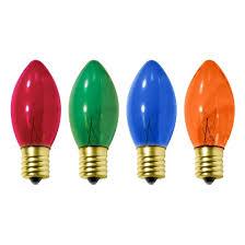 transparent replacement light bulbs green blue 4ct wondershop