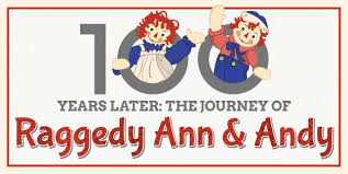 Raggedy Ann Andy Halloween Costumes Adults 100 Journey Raggedy Ann Andy Infographic