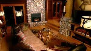 Lodge Living Room Decor by Rustic Living Room Ideas U0026 Decorating Hgtv