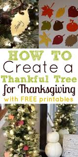 how to create a thankful tree for thanksgiving simple made pretty