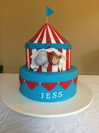circus cake toppers easy circus cake