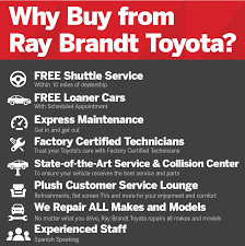 toyota best dealership why buy from ray brandt toyota in kenner la