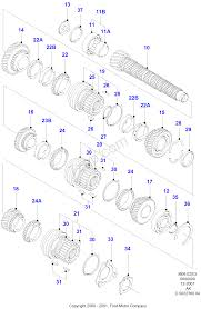 manual transaxle components ford escort 1995 2001 fa