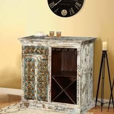 distressed wood bar cabinet javon reclaimed wood barrel door wine bar cabinet