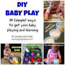 diy baby play ideas laughing learn