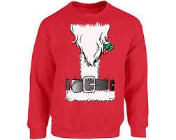 santa sweater etsy
