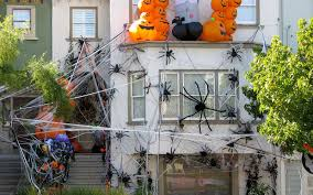 Best Decorated Halloween Houses Halloween House Decoration