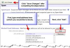 yahoo email junk mail how to set up spam settings in yahoo email turbofuture