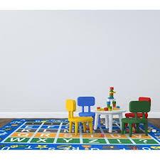 Alphabet Area Rug Jn3736 Jenny Children U0027s Educational Alphabet Design Kids Area