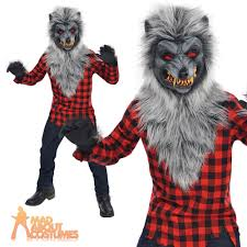 halloween wolf costume details about teen wolf costume hungry howler boys werewolf fancy
