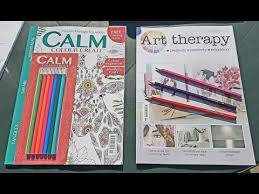 calm colour art therapy magazine issue 69 calm colour create issue 11 youtube
