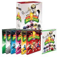 amazon mighty morphin power rangers complete series