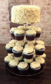 wedding cupcake tower mini wedding cupcake tower sweet serendipity