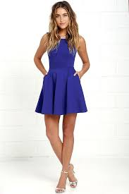 best 25 royal blue skater dress ideas on pinterest easter dress