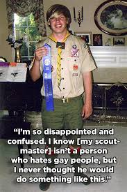 Boy Scout Memes - gay boy scout denied eagle scout rank