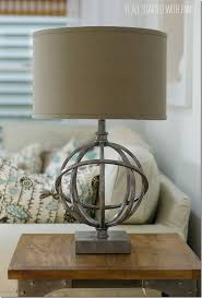 industrial look table lamps it all started with paint