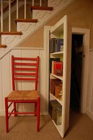 secret bookcase doors always fun and always mysterious stair