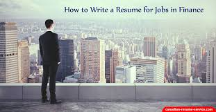 Resume For Finance Jobs by How To Write A Resume For Jobs In Finance To Get Interviews