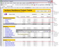 Excel Construction Bid Template Uda Estimating 2003 Construction Estimating Templates