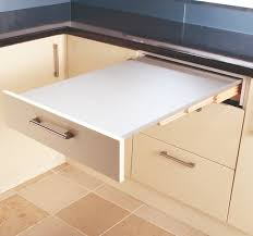 Big Ideas For Small Kitchens Real Homes - Kitchen pull out table