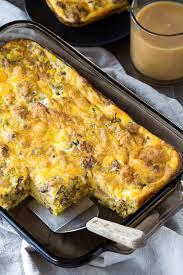 leftover breakfast casserole sweet savory by shinee