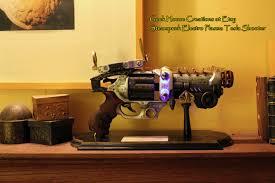steampunk dieselpunk tesla shooter nerf pistol with led