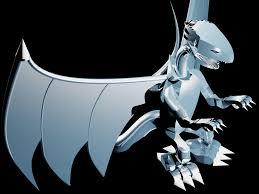 blue eyes white dragon by x kicker on deviantart